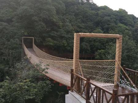 嘉定木吊桥厂家