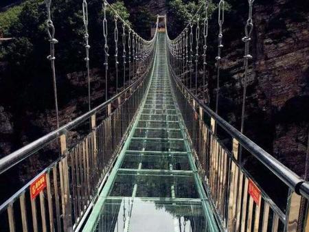 嘉定玻璃吊桥厂家制造